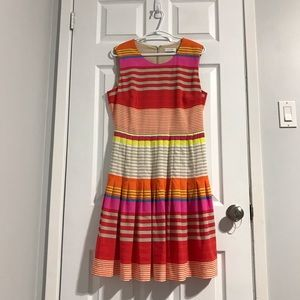 Calvin Klein Multicolour Stripe Sleeveless Dress